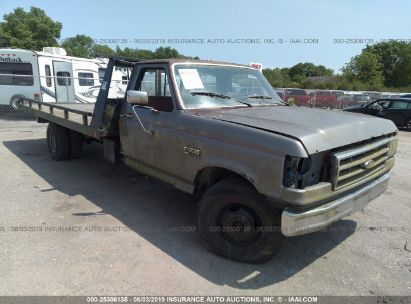 Salvage 1982 FORD F350 for sale