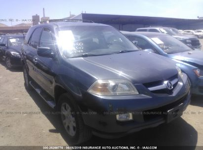 Salvage 2004 ACURA MDX for sale
