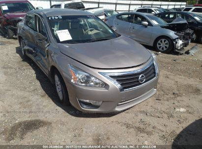Salvage 2015 NISSAN ALTIMA for sale