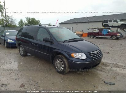 Salvage 2007 CHRYSLER TOWN & COUNTRY for sale