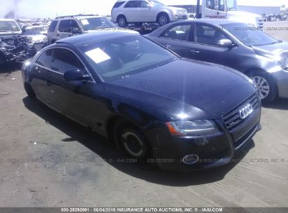 Salvage 2008 AUDI A5 for sale