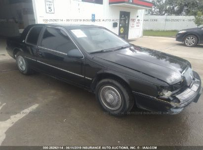 Salvage 1989 MERCURY COUGAR for sale