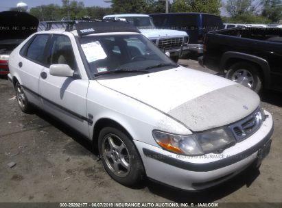 Salvage 2001 SAAB 9-3 for sale