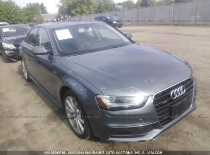 Salvage 2016 AUDI A4 for sale