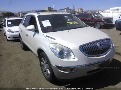Salvage 2010 BUICK ENCLAVE for sale