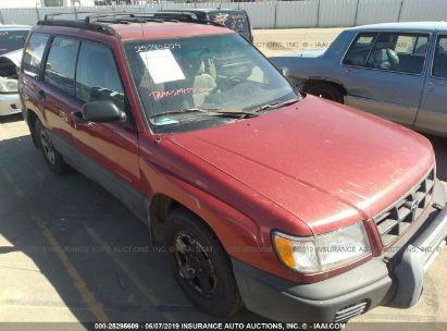 Salvage 1999 SUBARU FORESTER for sale
