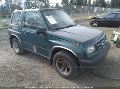 Salvage 1997 GEO TRACKER for sale