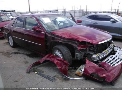 Salvage 2008 CADILLAC DTS for sale