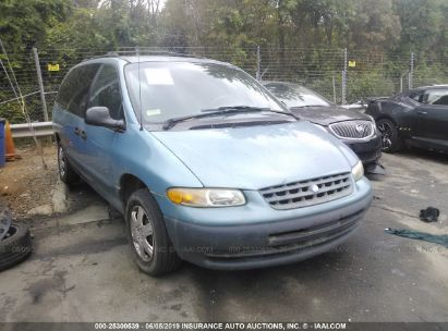 Salvage 1998 PLYMOUTH GRAND VOYAGER for sale