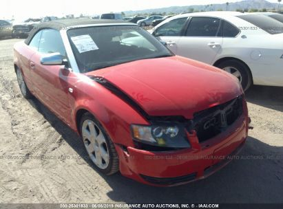 Salvage 2005 AUDI S4 for sale