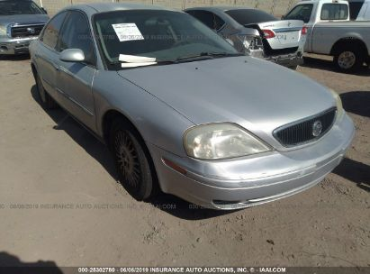 Salvage 2002 MERCURY SABLE for sale