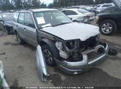 Salvage 2006 SUBARU FORESTER for sale