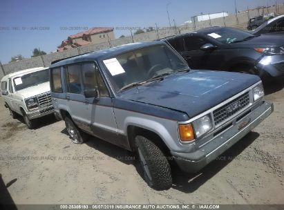 Salvage 1987 ISUZU TROOPER for sale