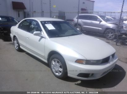 Salvage 2003 MITSUBISHI GALANT for sale