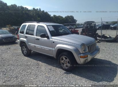 Salvage 2004 JEEP LIBERTY for sale