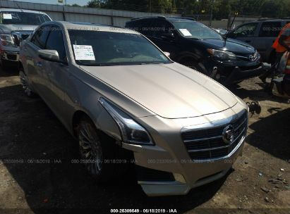 Salvage 2014 CADILLAC CTS for sale