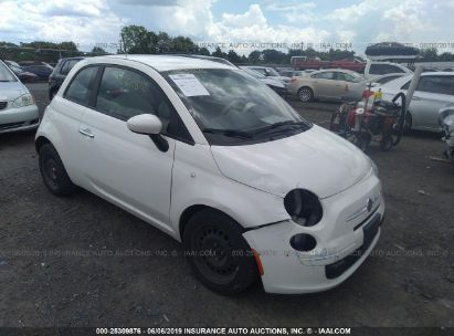 Salvage 2012 FIAT 500 for sale