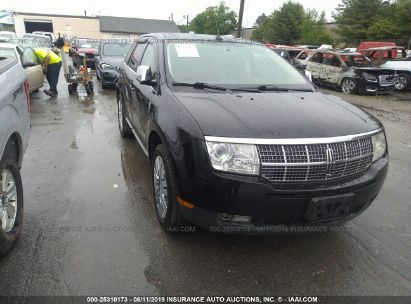 Salvage 2008 LINCOLN MKX for sale