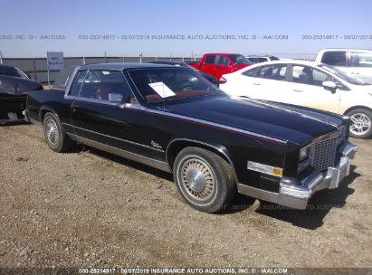 Salvage 1979 CADILLAC ELDORADO for sale
