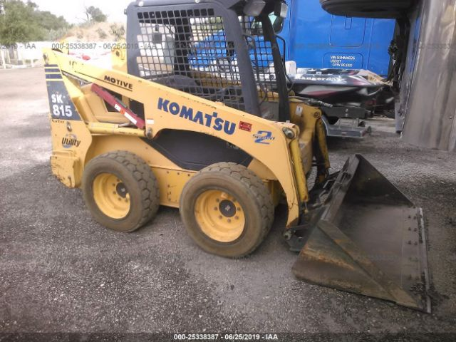 click here to view 2004 KOMATSU SKID STEER at IBIDSAFELY