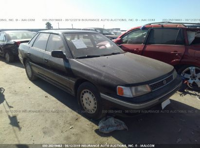 Salvage 1990 SUBARU LEGACY for sale