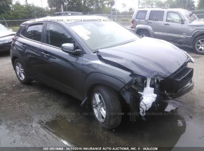 Salvage 2019 HYUNDAI KONA for sale