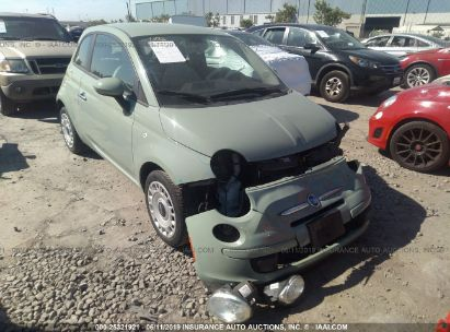 Salvage 2013 FIAT 500 for sale