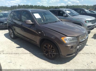 Salvage 2011 BMW X3 for sale