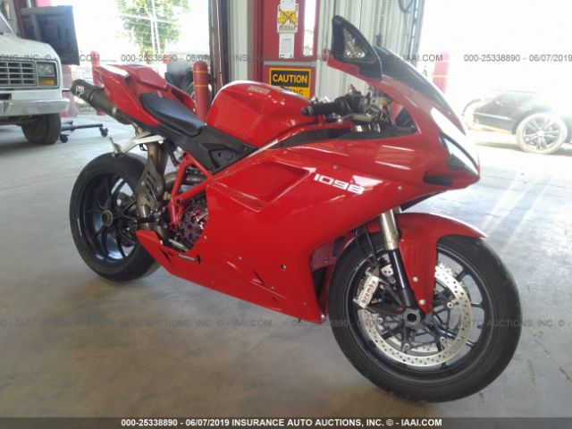 click here to view 2008 DUCATI 1098 at IBIDSAFELY