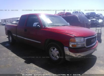 Salvage 2001 GMC NEW SIERRA for sale