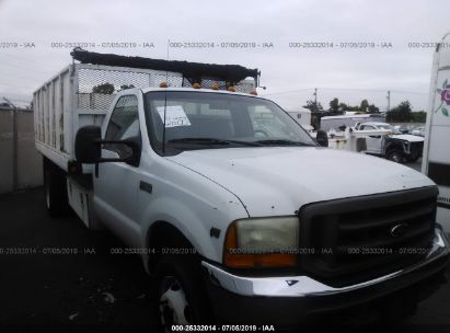 Salvage 2001 FORD F450 for sale