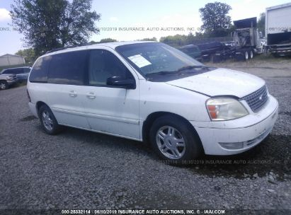 Salvage 2004 FORD FREESTAR for sale