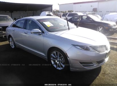 Salvage 2016 LINCOLN MKZ for sale
