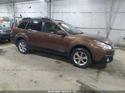 Salvage 2013 SUBARU OUTBACK for sale