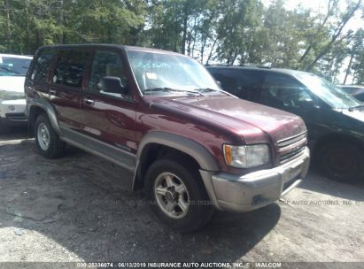 Salvage 2001 ISUZU TROOPER for sale