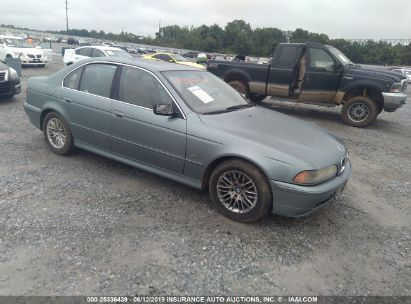 Salvage 2001 BMW 530 for sale