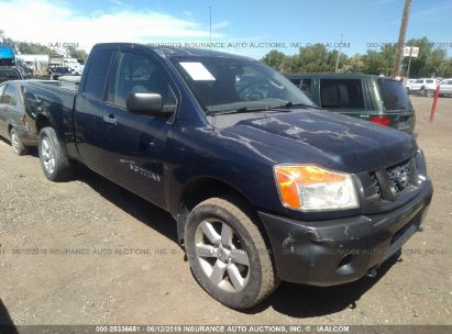 Salvage 2008 NISSAN TITAN for sale
