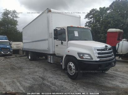 Salvage 2015 HINO 258/268 for sale