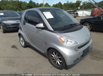 Salvage 2008 SMART FORTWO for sale