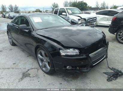 Salvage 2010 AUDI A5 for sale