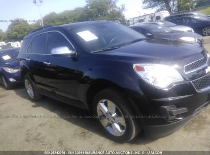 Salvage 2015 CHEVROLET EQUINOX for sale