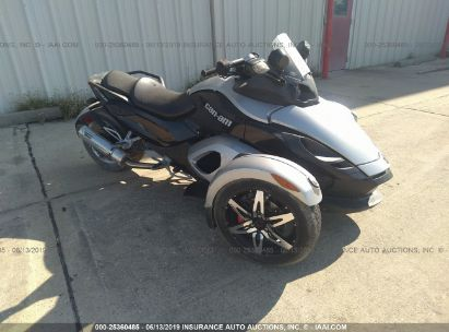 Salvage 2009 CAN-AM SPYDER ROADSTER for sale