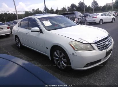 Salvage 2006 INFINITI M35 for sale