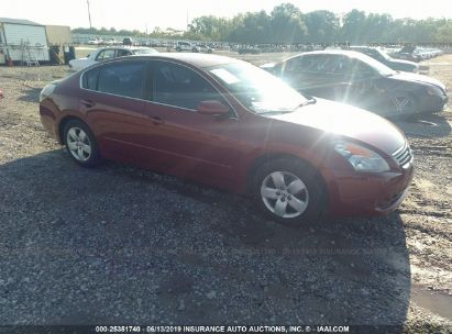 Salvage 2007 NISSAN ALTIMA for sale