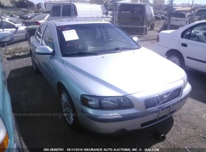 Salvage 2003 VOLVO S60 for sale