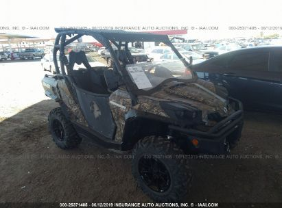 Salvage 2017 CAN-AM COMMANDER for sale