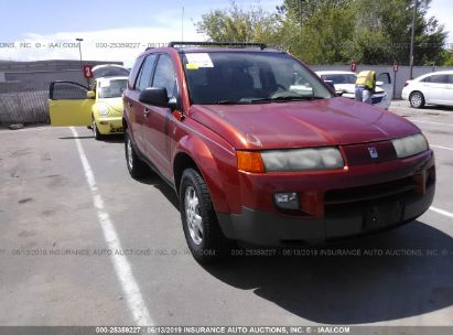 Salvage 2003 SATURN VUE for sale