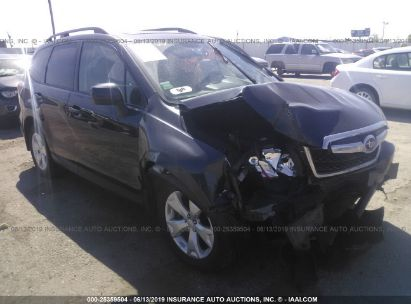 Salvage 2016 SUBARU FORESTER for sale