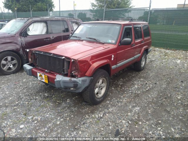 Salvage Title 1999 Jeep Cherokee 4 0L For Sale in