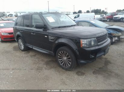 Salvage 2010 LAND ROVER RANGE ROVER SPORT for sale
